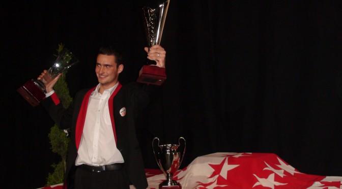 Le champion valaisan 2015 toutes catégories, Lionel Fumeaux.